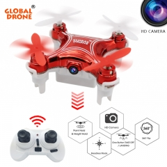 Mini Drone with camera Altitude Holder RC Quadcopter Headless Mode Helicopter with HD Camera blue one size