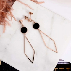 new arrival fashion elegant stud woman titanium steel gift fine jewelry never fade as picture one size