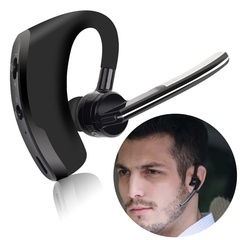 Bluetooth Wireless Business Headphones/Earpieces with Noise Reduction Earbuds/Earphones for Phones black one size