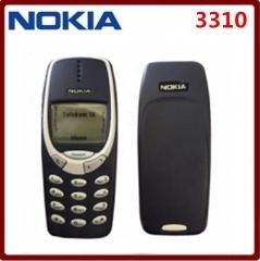Nokia phone Nokia 3310 cheap phone unlocked GSM 900/1800 with multi language dark blue