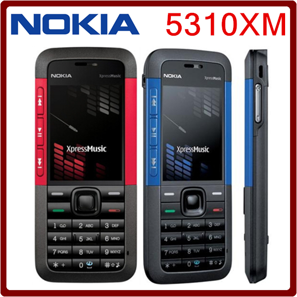 Kilimall Refurbished Phone Nokia 5310 Xpressmusic Unlocked Phone 2g