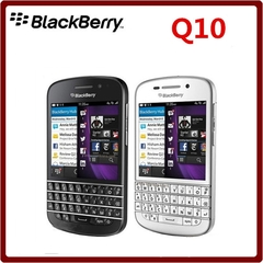 Blackberry Q10 Mobile Phone refurbished 3G 4G Network 8.0MP Dual-core 1.5 GHz 2G RAM 16G ROM black