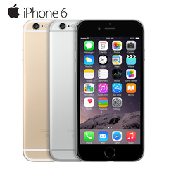 Refurbished Apple iPhone 6 Dual Core IOS Mobile Phone 4.7' IPS 1GB RAM 16GB ROM 4G LTE  phone gold