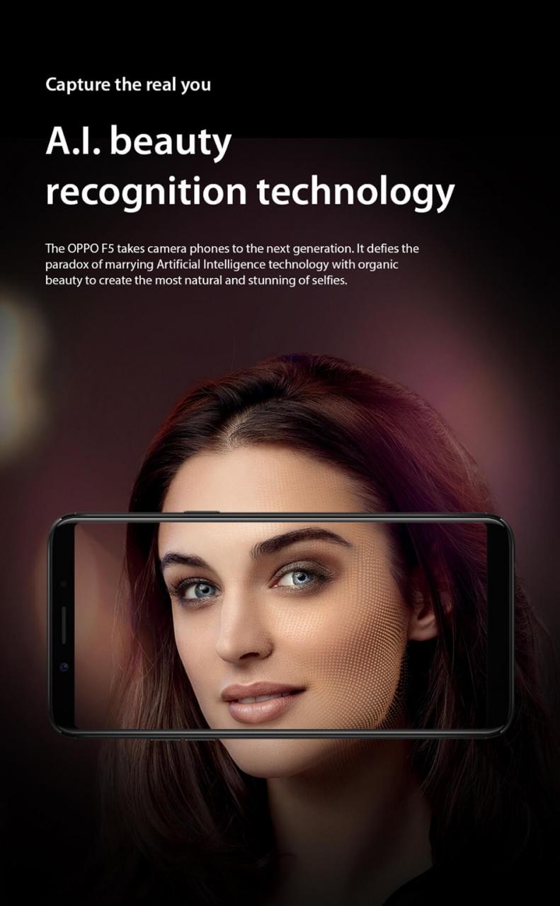 smart phone OPPO F5 - 6
