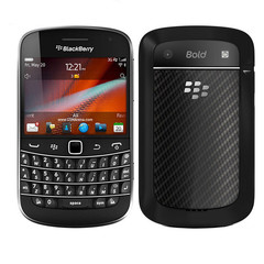 Blackberry 9900 Blod Touch Mobile Phone 3G Cell phones WiFi  5.0MP Camera QWERTY keyboard Smartphone black