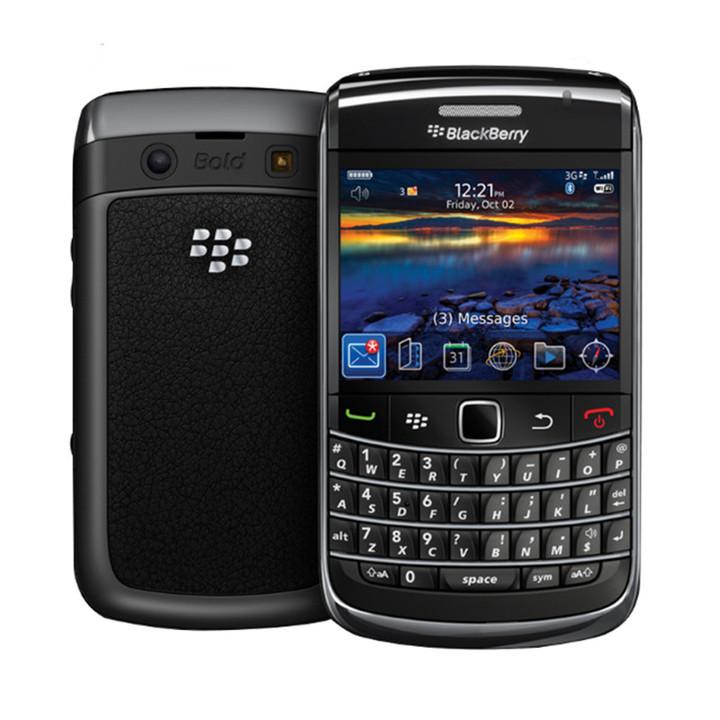 Refurbished Blackberry 9780 (two batteries) Mobile Phones 3G 5MP Camera 2.4'' 480x360 Screen black