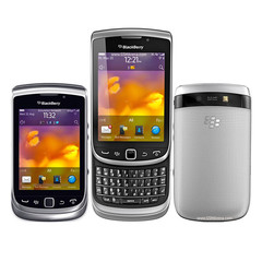 Blackberry 9810 Mobile Phone bluetooth wifi QWERTY Keyboard + 3.2 inch Touch Screen Slider phone black
