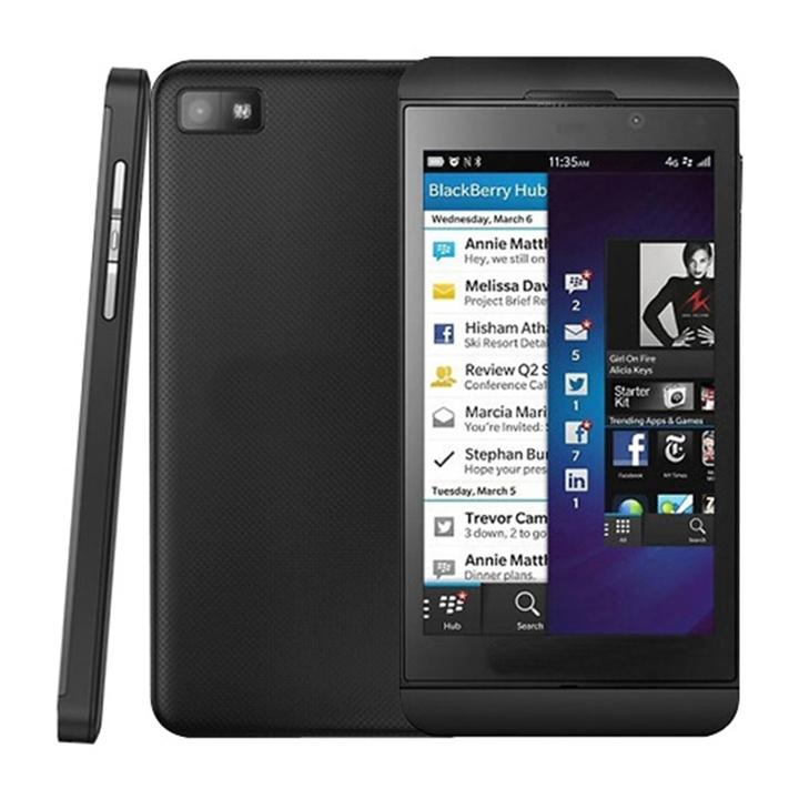 "Blackberry Z10 (two batteries) 4.2"" 2GB RAM 16GB ROM 8MP Camera Certified Refurbished Mobile Phone black"