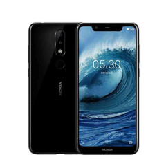 Refurbished Nokia X5 Smartphone 3060mAh  Android 5.86 Inch 3GB RAM 32GB ROM LTE 4G Mobile Phone black