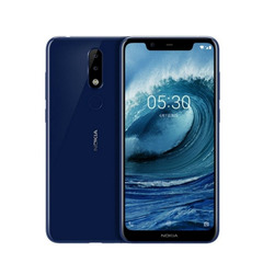 NOKIA X5 smart phone 4GB+64GB 5.8 inches 19:9 screen Octa-core Dual camera LTE black