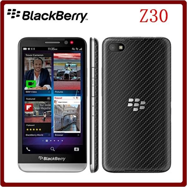 Blackberry Z30 5.0 Inch 16GB ROM 2GB RAM WCDMA 3G/4G smartsphone 8MP Dual Core Bluetooth Refurbished white