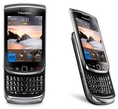 Original Blackberry 9800 Phone Bluetooth WIFI Touch QWERTY Keyboard Slider Cell Phone black