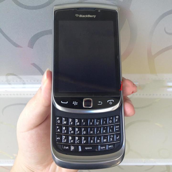 BlackBerry 9810 Mobile Phone Smartphone 3G Wifi Bluetooth GPS 8GB Cellphone Certified Refurbished black