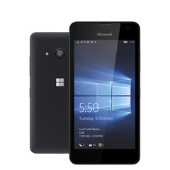 Nokia Microsoft Lumia 550 4.7 Inch 1GB RAM 8GB ROM Windows Certified Refurbished Mobile Cellphone black
