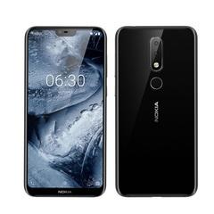 Nokia X6/6.1plus 32g/64g 5.8inch 16MP+16MP Fingerprint Certified Refurbished Smartphone black 4+32gb