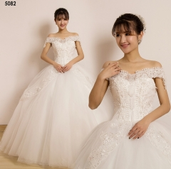 TBC Affordable wedding gown lovely sweet elegant wedding dress_PN-5082 s white