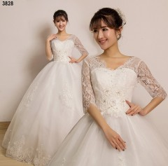 TBC Affordable wedding gown lovely sweet elegant wedding dress_PN-3828 s white