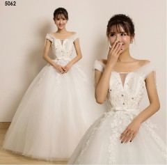 TBC Affordable wedding gown lovely sweet elegant wedding dress_PN-5062 s white