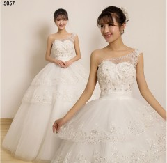 TBC Affordable wedding gown lovely sweet elegant wedding dress_PN-5057 s white
