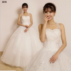 TBC Affordable wedding gown lovely sweet elegant wedding dress_PN-5078 s white