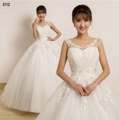 TBC Affordable wedding gown lovely sweet elegant wedding dress_PN-5112 s white