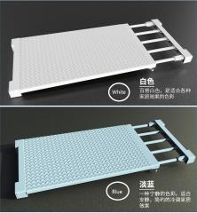 TBC Strechable Wardrobe separators Cupboard separators FBK Blue = W35cm x L38-55cm