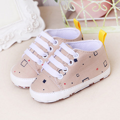 TBC Unisex Baby shoes newborn shoes cute infant vans soft-sole flat shoes Baby Brown Size 11