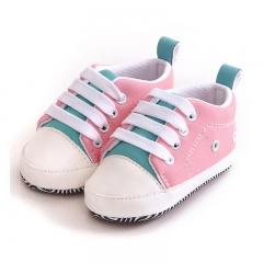 TBC Unisex Baby shoes newborn shoes infant vans soft-sole Pink size 11