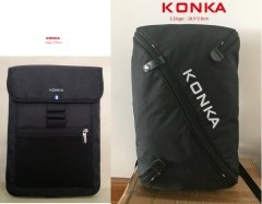 KONKA HIGH QUALITY LAPTOP BACKPACK(NOT FOR SALE) black one size