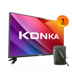 KONKA  32 Inch HD Digital LED TV Ultra Frame Model:KDE32ML311ATS (1 Year Warranty+Free Stands) Black 32