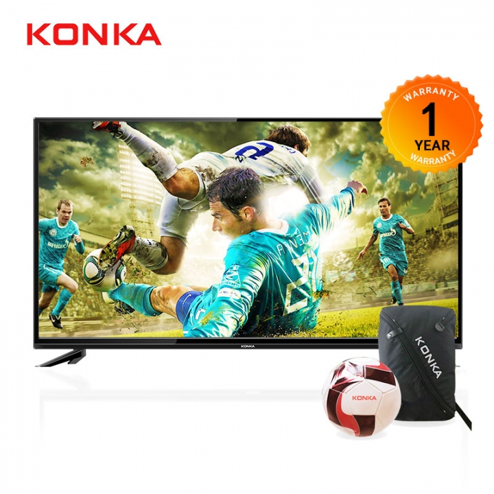 "KONKA 32 Inch HD Digital LED TV (LIMITED PROMOTION TO  ""BUY TV GET TWO FREE GIFTS) Black 32"