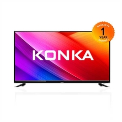 KONKA TV 49 INCH black 49  inch