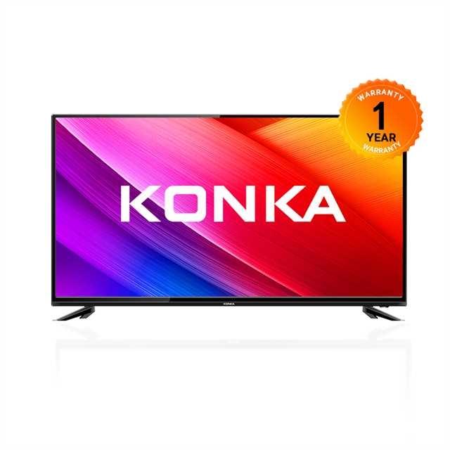 KONKA 55 INCH SMART TV black 55 Inch