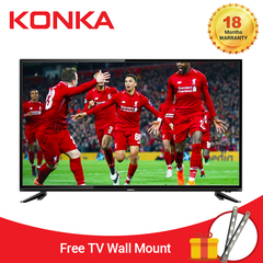 (Tip: Get KSh.1,200KSh voucher below!)) KONKA 32 Inch HD Digital LED TV Black 32
