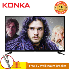 (Flashsale Price,Limited Stock 100pcs )KONKA 32 Inch HD Digital TV Black 32