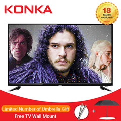 (HOT SALE)KONKA 32 Inch HD Digital TV(Limited Free Gifts) Black 32