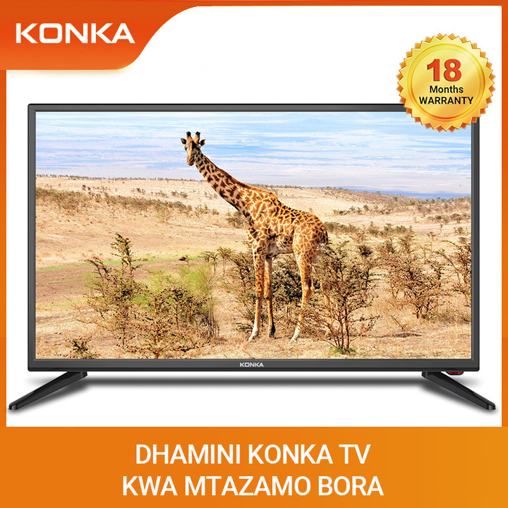 "KONKA 32"" Smart TV HD LED Android Television black 32 Inch"
