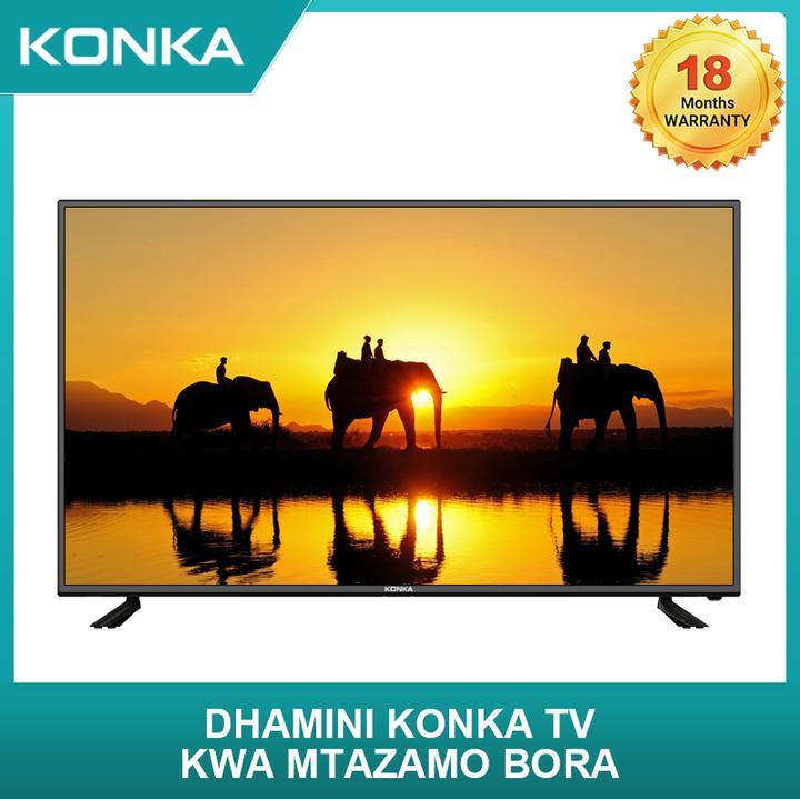 (Limited Free KONKA Juicer Gift)KONKA 49 Inch Smart 4K UD Android TV black 49  inch