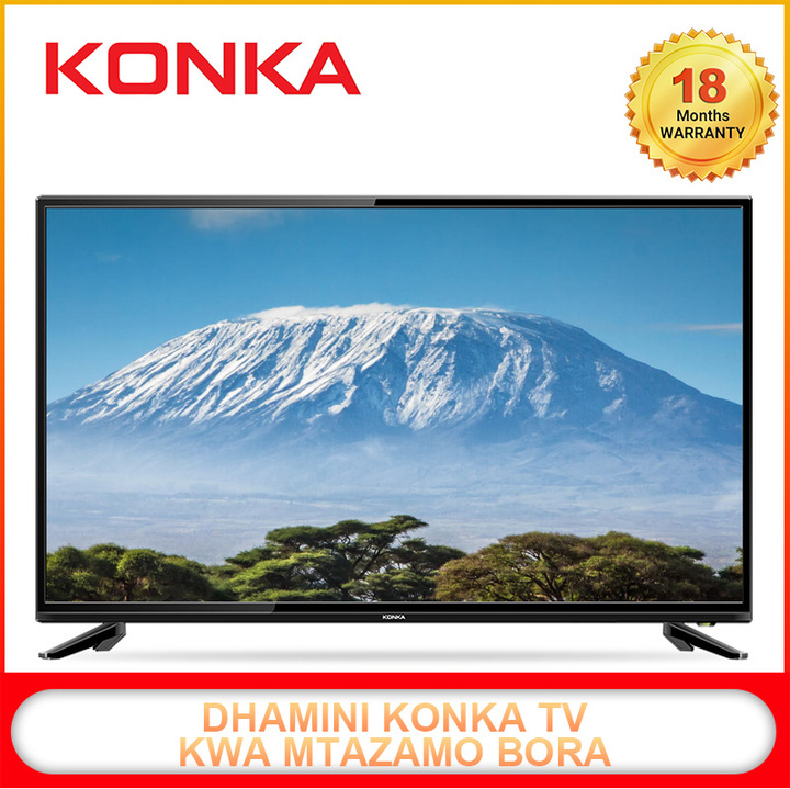 "(Flash Sale Price)  KONKA 40"" Smart TV Full HD LED Android Television black 40  inch"