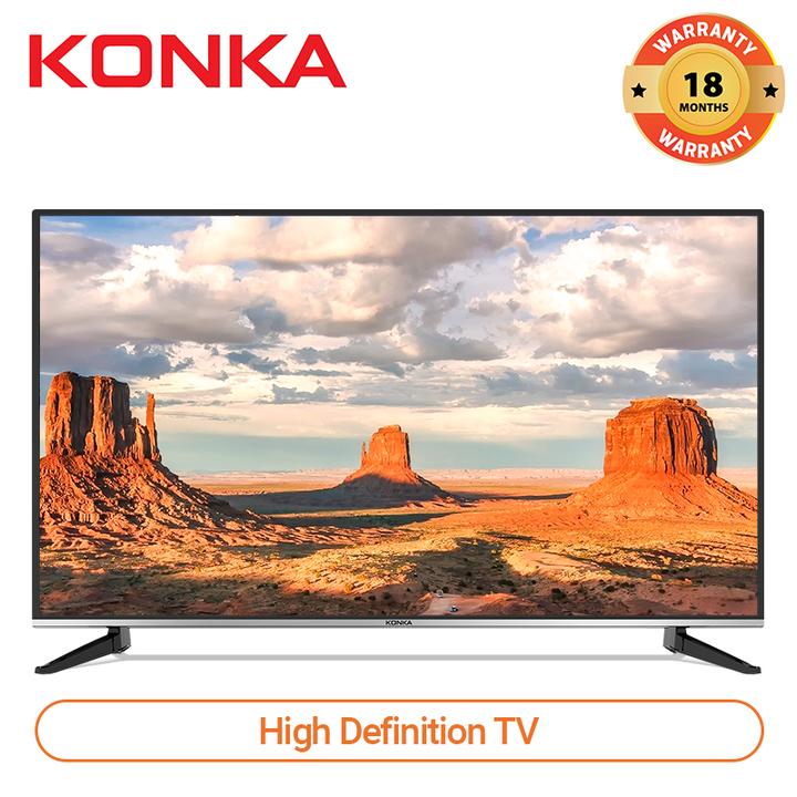 (Last 20pcs,Flash Sale Price)KONKA 32 Inch HD Digital TV Black 32