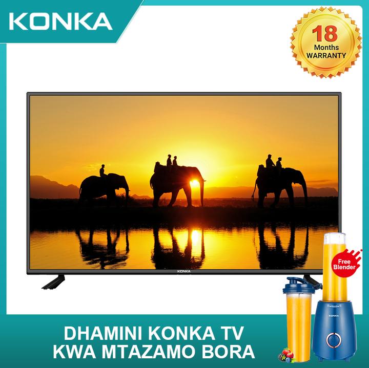 (Limited Free KONKA Blender)KONKA 49 Inch Smart 4K UD Android TV black 49  inch