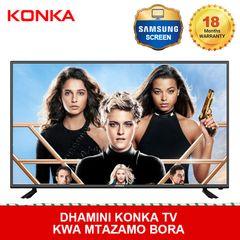 KONKA 49'' Smart 4K UD Android TV(Final Price Only 29199KSH Upon Deduction 2 Limited Vouchers) black 49  inch