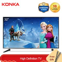 KONKA 32''HD Digital LED TV With Free Wall Mount(New Year Price only 11199KSH Gift for Sweet Home) Black 32