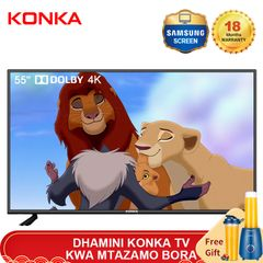 KONKA 55'' Smart 4K UD Dolby TV with Limited Free Juicer(Flash Price 35999KSH Netflix Android 9.0) black 55 Inch