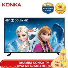 KONKA 49'' Smart 4K UD Dolby TV with Limited Free Juicer(Flash Price 28999KSH Netflix Android 9.0) black 49  inch