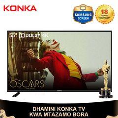 KONKA 55'' Smart 4K UD Dolby TV Oscar Festival  33999KSH Netflix Android 9.0 black 55 Inch