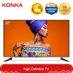 KONKA 32''HD Digital LED TV With Free Wall Mount Queen's Day Sale only 10999KSH for Amazing Gift Black 32