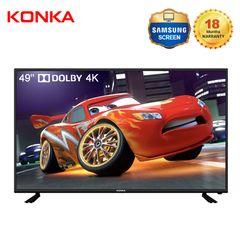 Limited 30PCS KONKA 49'' Smart 4K UD Dolby TV EVO Sale Only 26899KSH Netflix Android 9.0 black 49  inch