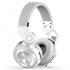 Original Bluedio T2 bluetooth stereo headphones wireless bluetooth headset headphone with microphone white