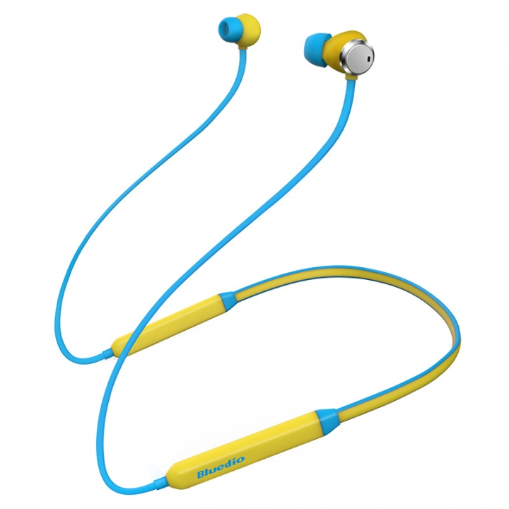 2018 Bluedio NewTN Active  Sports Bluetooth Earphone/Wireless Headset for phones and music yellow